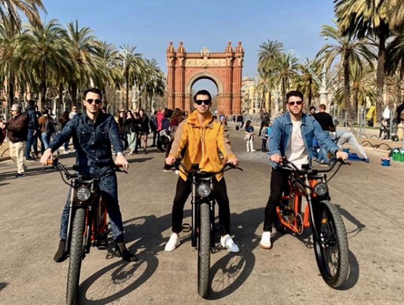 Els Jonas Brothers, a Barcelona   Instagram