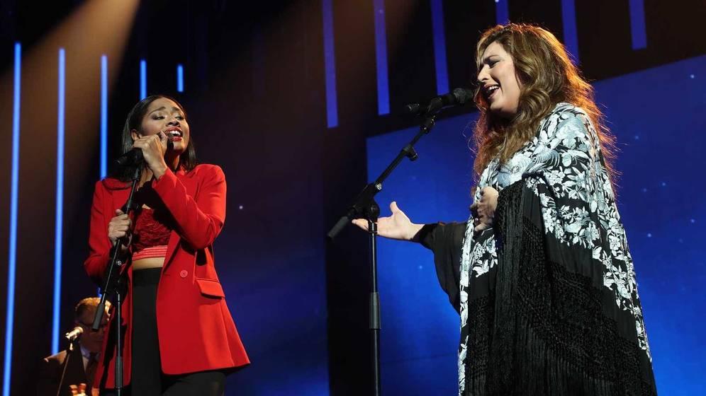 Estrella Morente i Nia a 'OT'   TVE