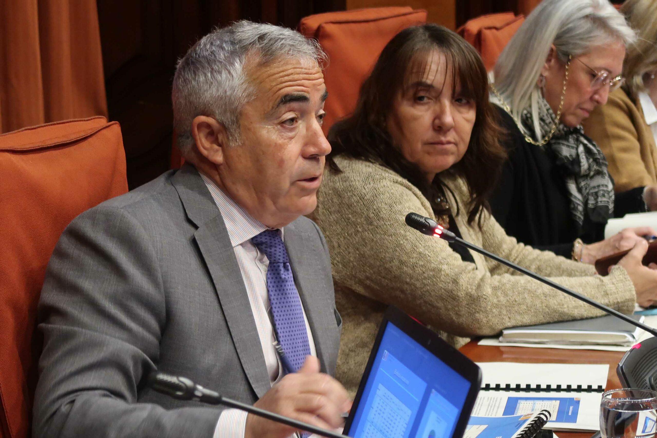 El fiscal Superior de Catalunya, Francisco Bañeres