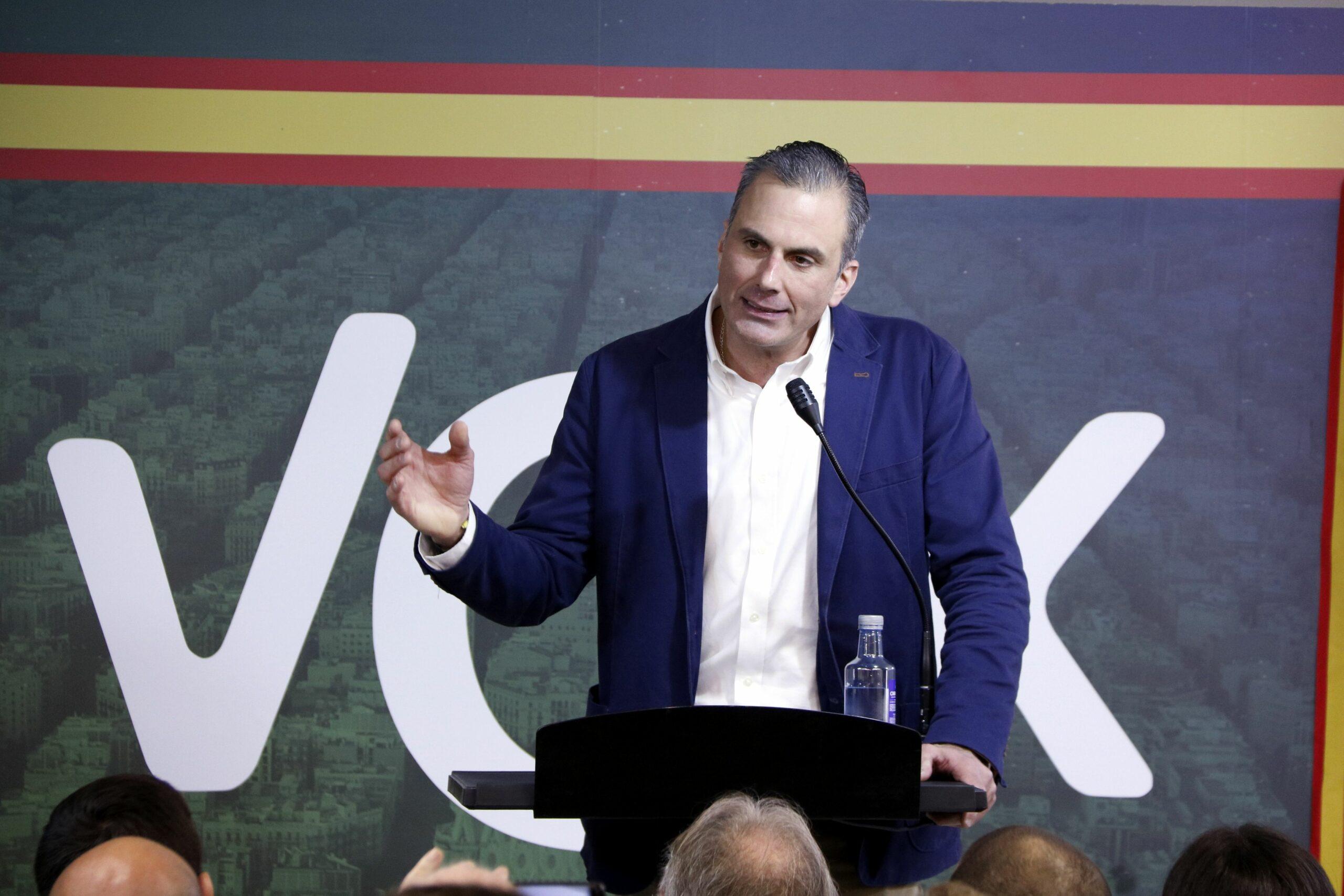 El secretari general de VOX, Javier Ortega Smith