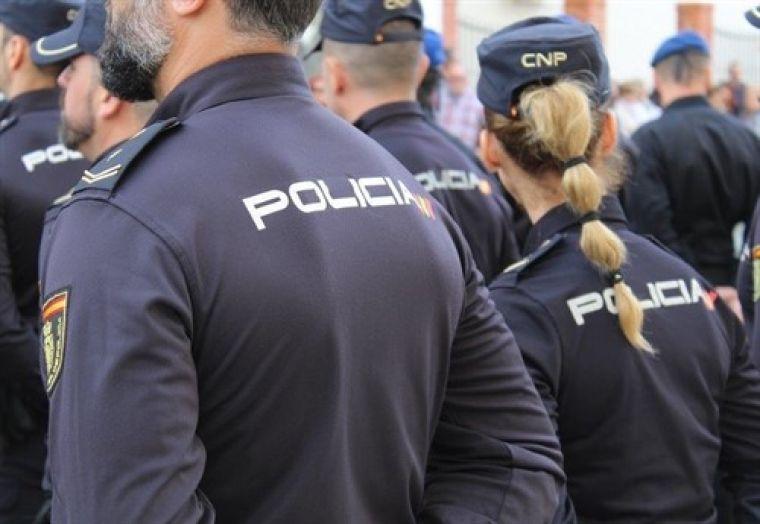 Agents de la policia espanyola