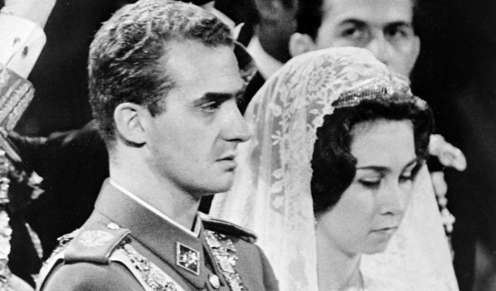 Foto de la boda de Joan Carles i Sofia - Casa Reial
