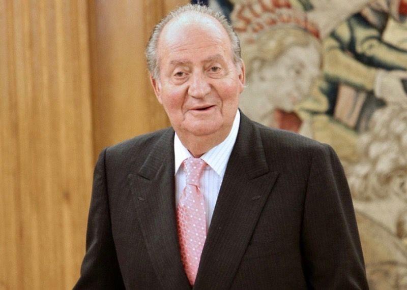 El rei Joan Carles, a La Zarzuela   Europa Press (1)