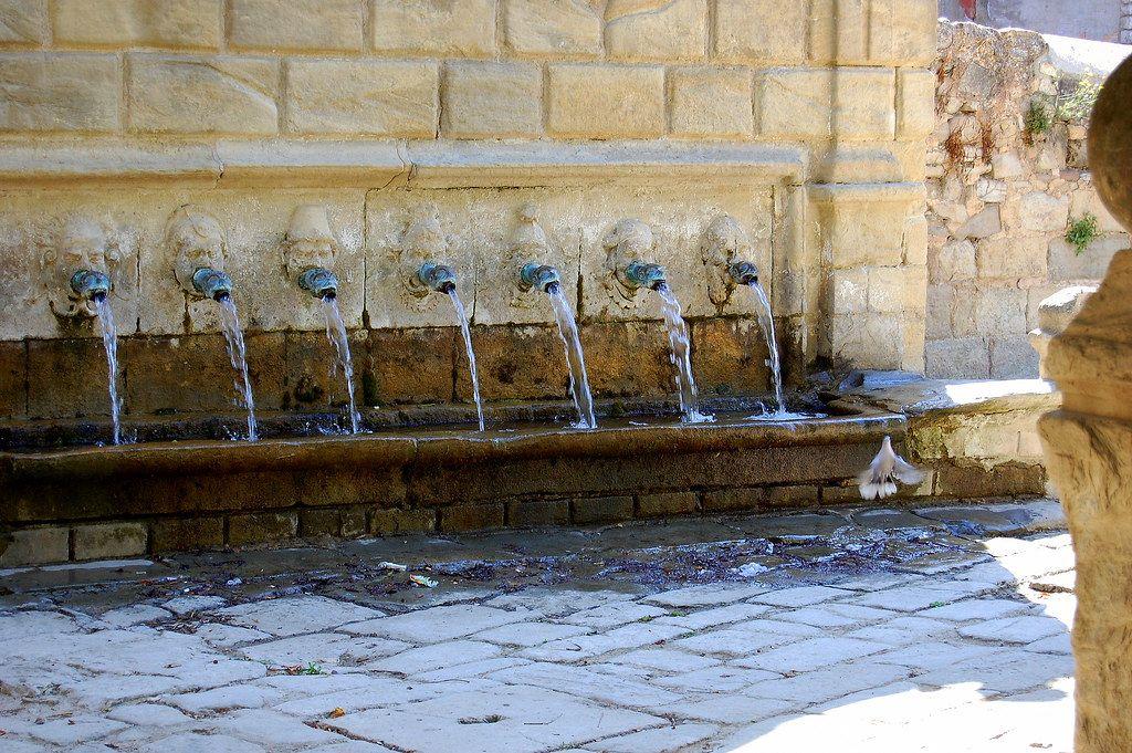 Fonts de Santa Coloma de Queralt, amb aigua no potable