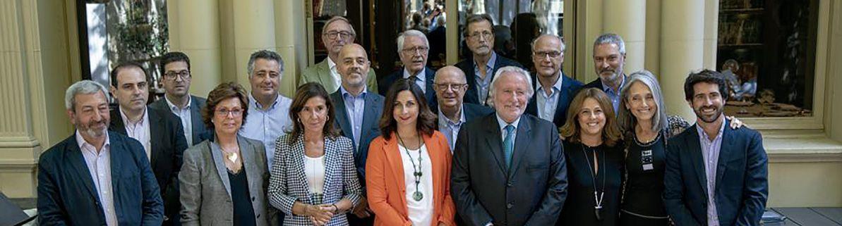 Els integrants i impulsors de la Lliga Democr?tica/LlD