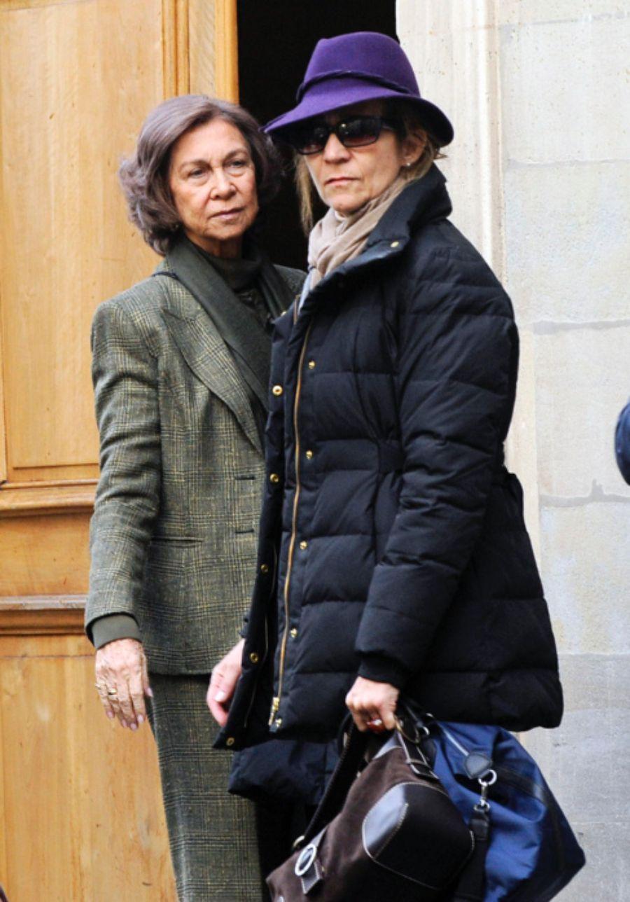 La reina Sofia i la infanta Elena   Europa Press