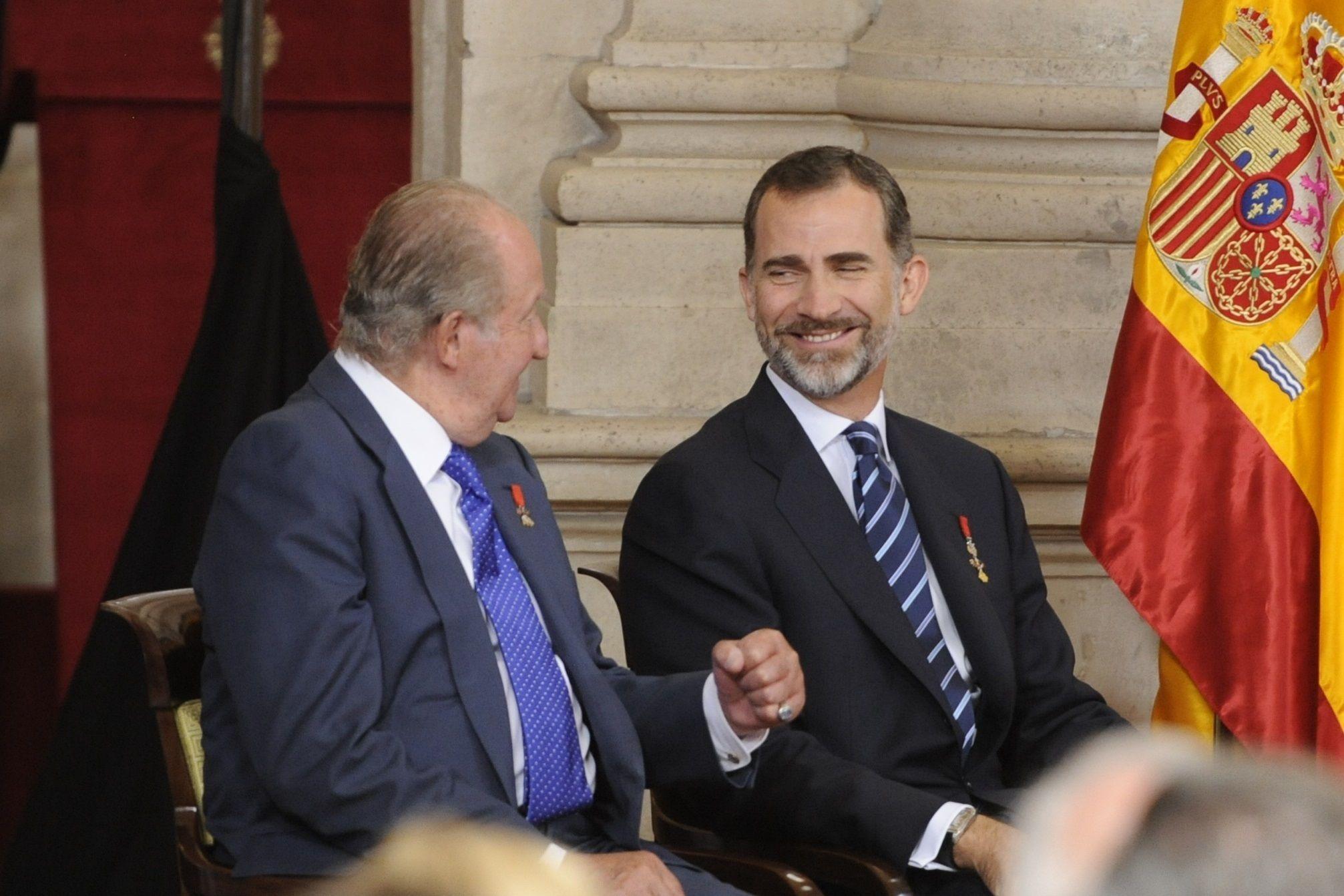 Joan Carles I i Felip VI