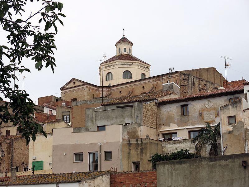 El poble de Mont-roig del Camp (Wikipedia)