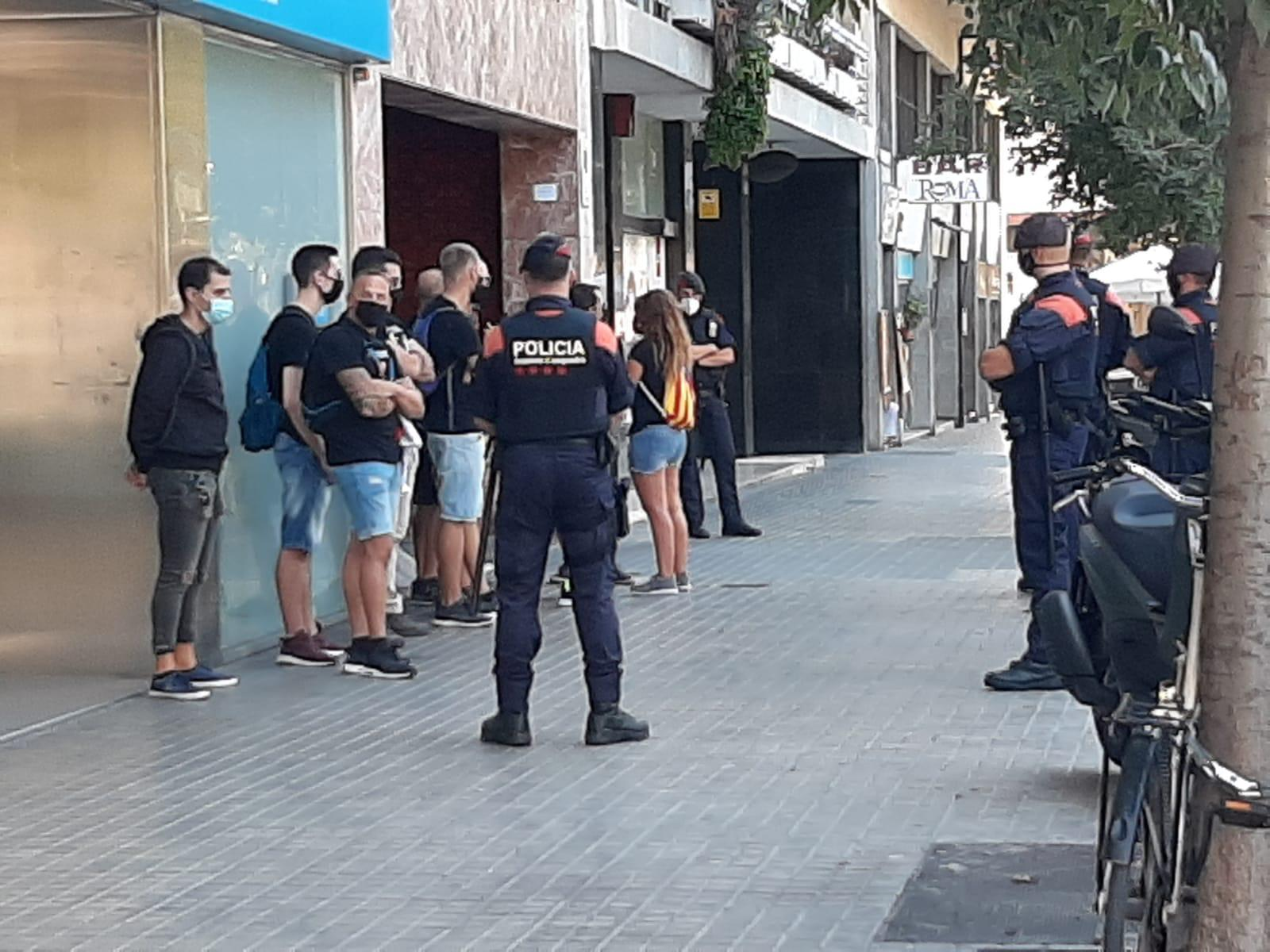 Diverses identificacions dels Mossos a Barcelona