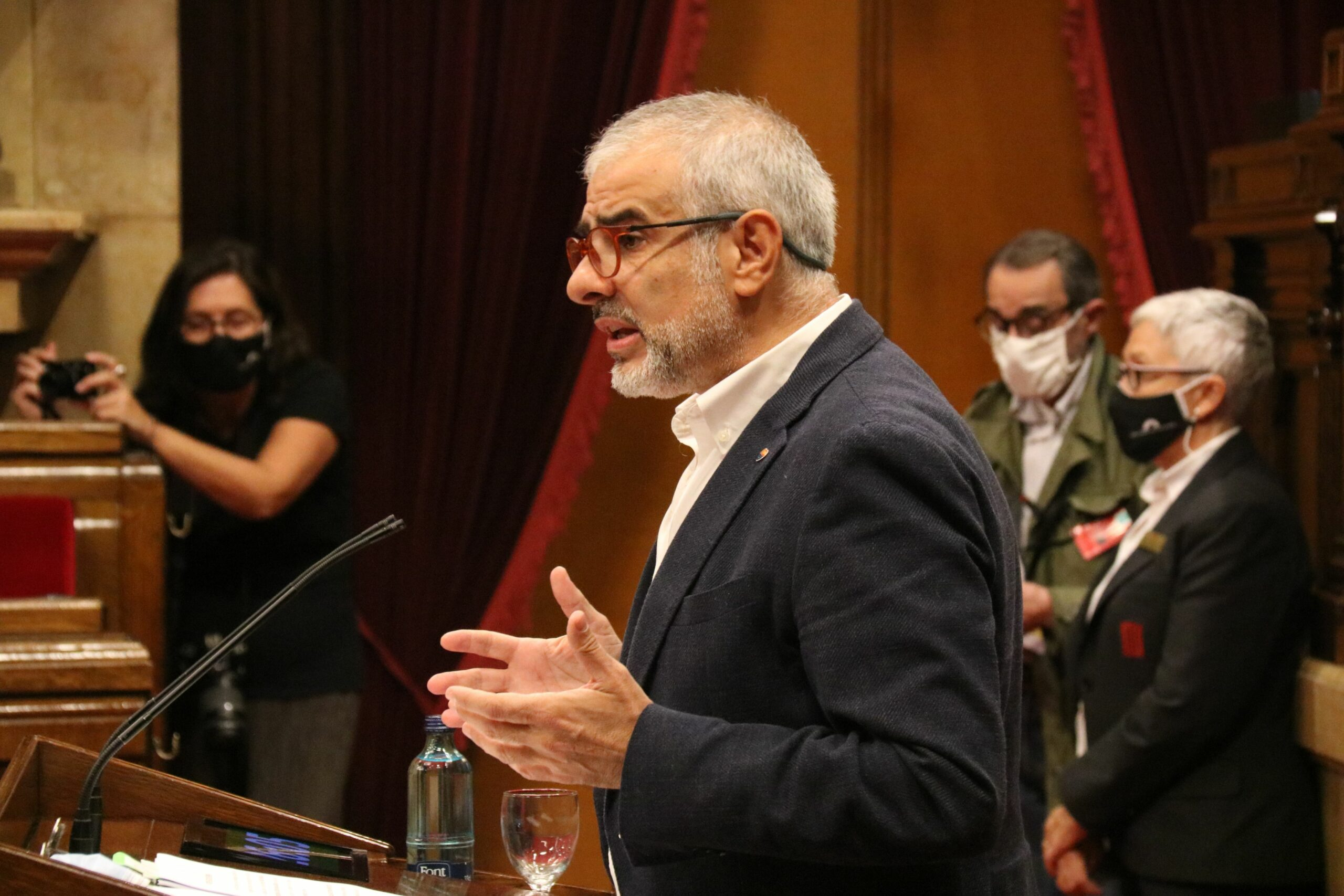 El president del grup parlamentari de Cs, Carlos Carrizosa ACN