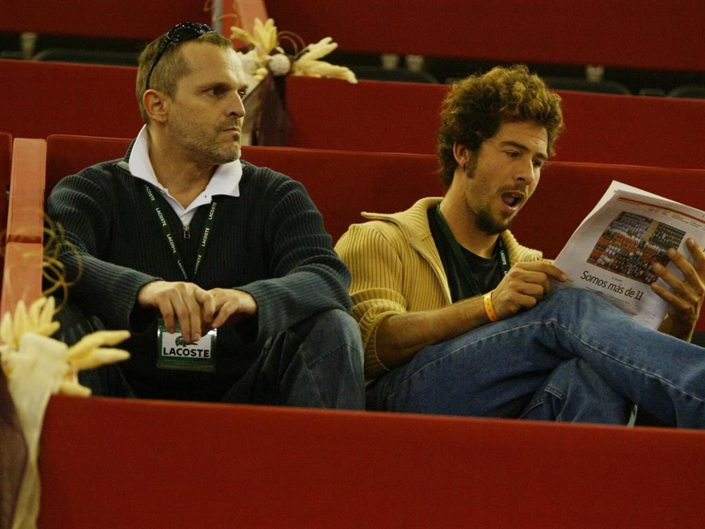 Miguel Bosé i Nacho Palau en una foto d'arxiu   Europa Press