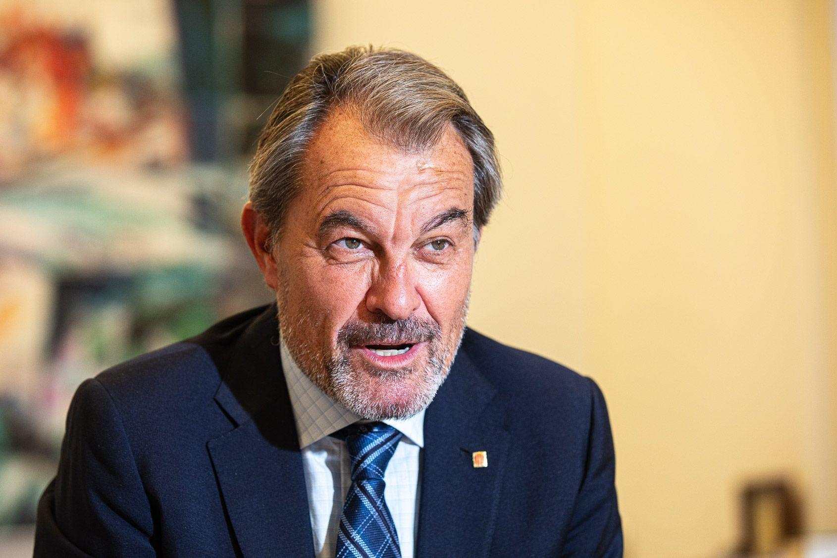 Artur Mas, durant una entrevista amb El Món, el 20 d'octubre del 2020 / Jordi Borràs