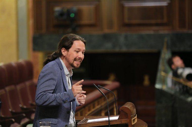 Pablo Iglesias al Congrés dels Diputats