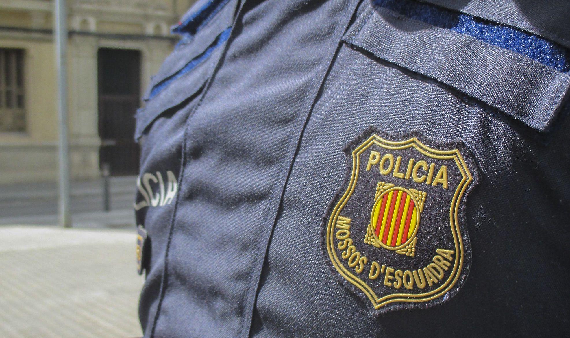 Un escut dels mossos