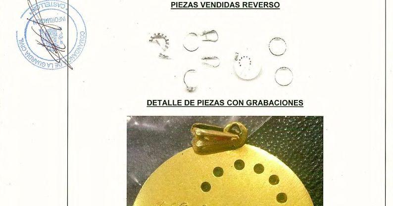 Les joies que la Josefina vol recuperar i que el jutge Guevara li ha promès que li seran retornades