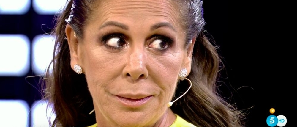 Isabel Pantoja, en directe a Telecinco