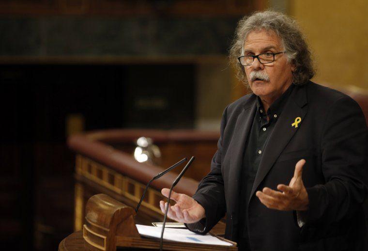 L'exportaveu d'ERC al Congrés, Joan Tardà