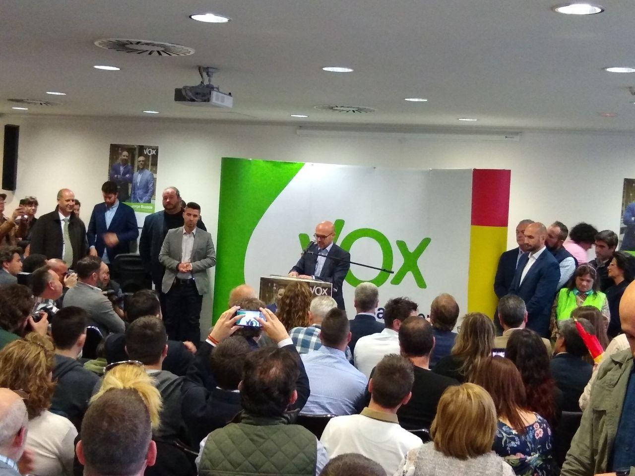 Jorge Buxadé, cap de llista de Vox a les eleccions europees | A.S.