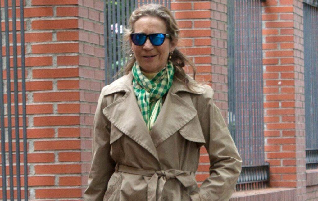 Elena de Borbó, captada pels 'paparazzi' / Europa Press