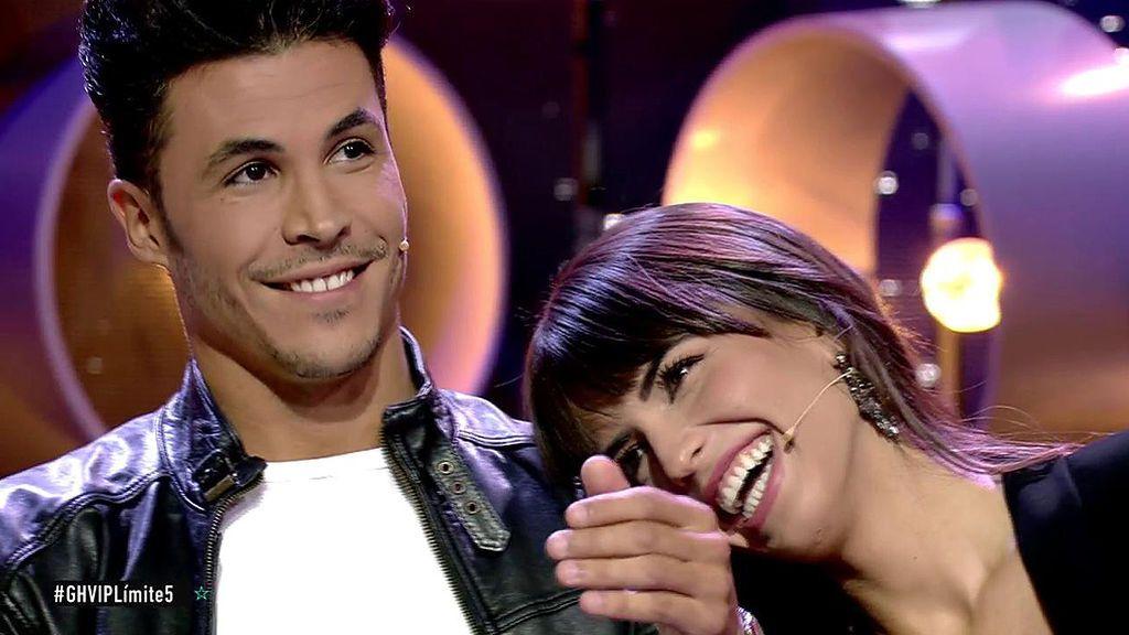 Kiko Jiménez i Sofía Suescun riuen a 'GH'   Telecinco