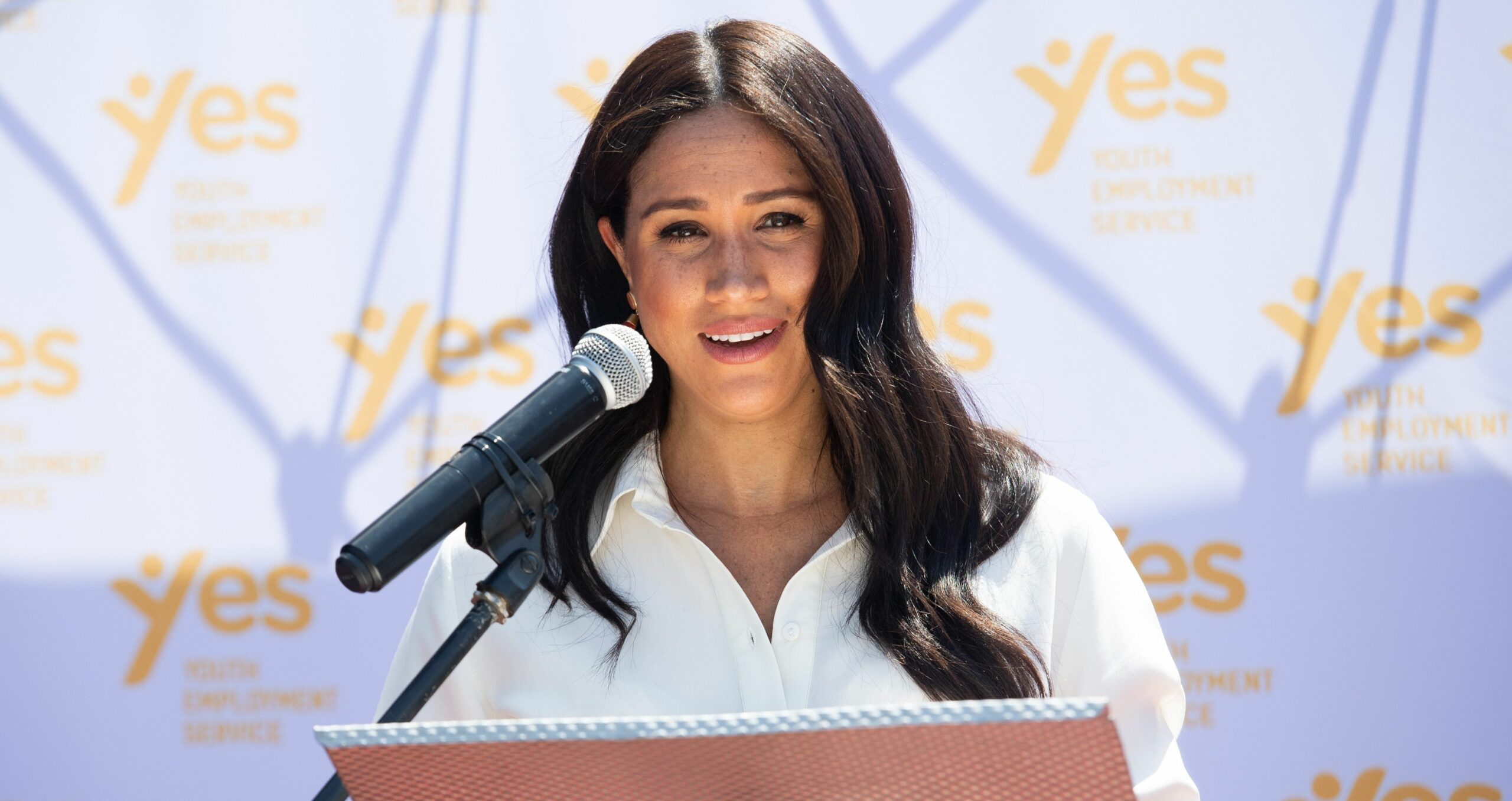 Meghan Markle ofereix un discurs   Europa Press