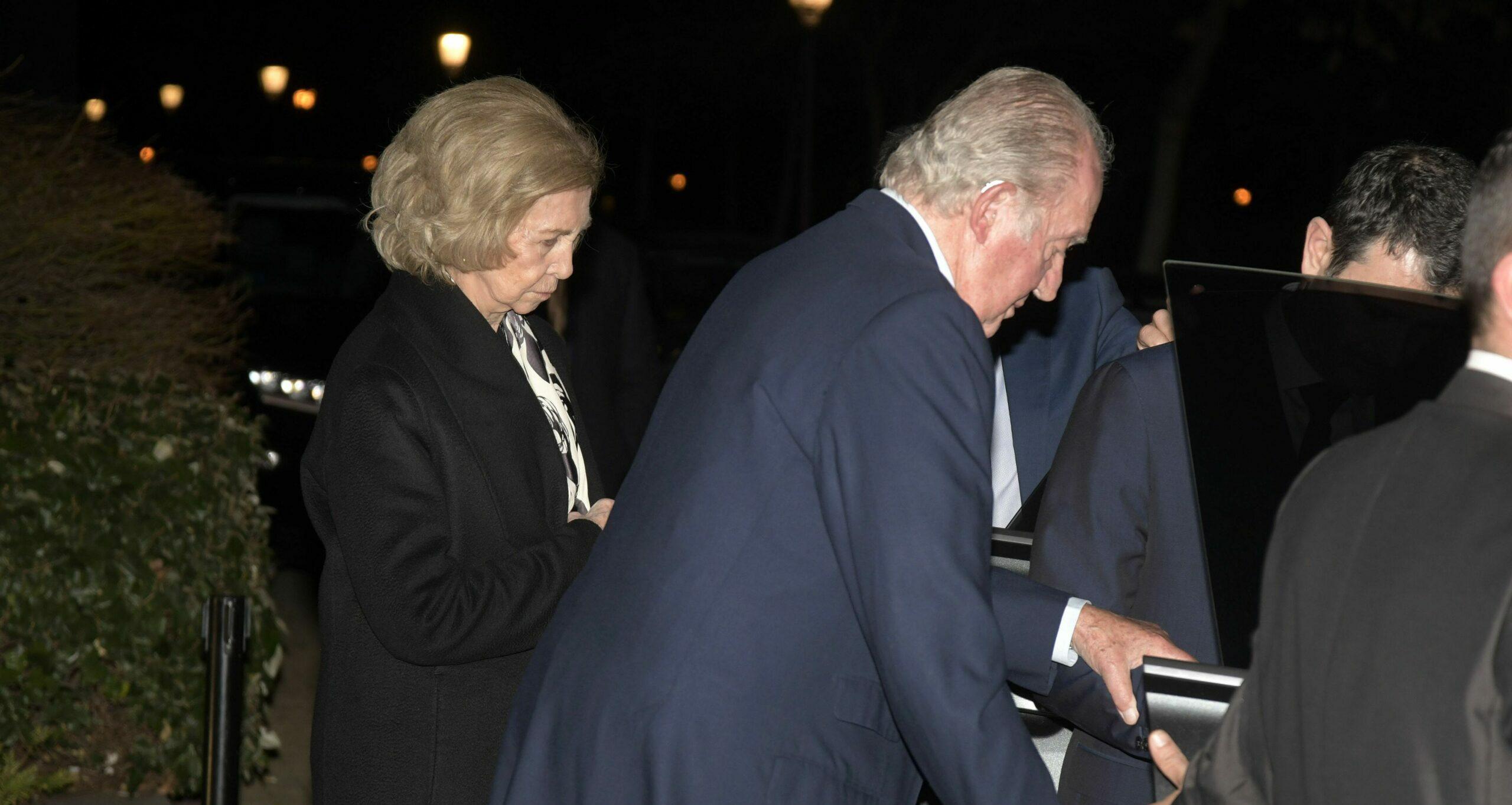 La reina Sofia i el rei Joan Carles, en una de les últimes imatges junts /  Europa Press