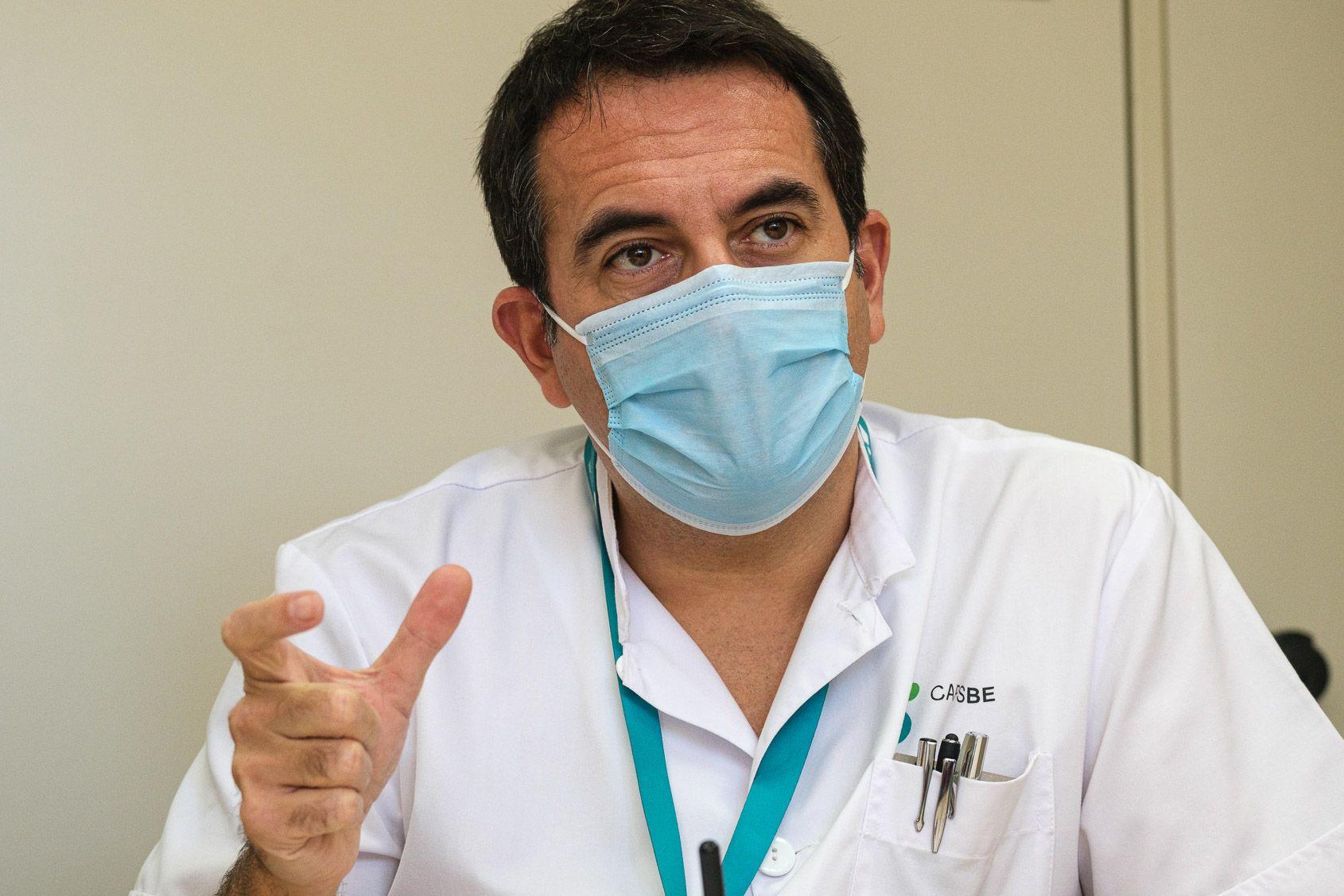 El president de Camfic, Antoni Siso / Jordi Borràs