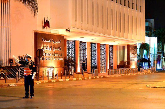 L'edifici de la Direction General de Securité del Maroc (DGSM)