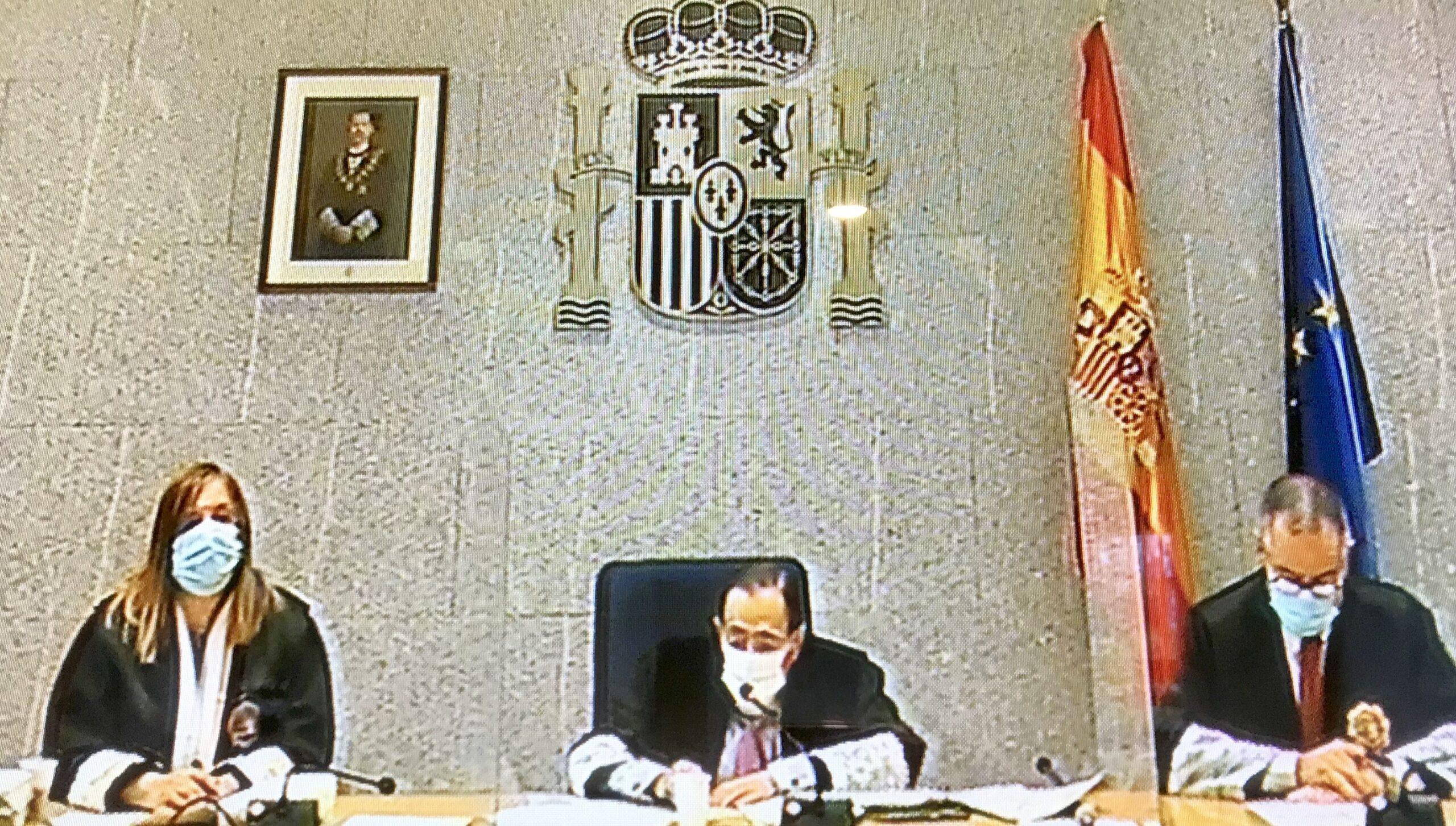 El tribunal presidit per Guevara aquest matí