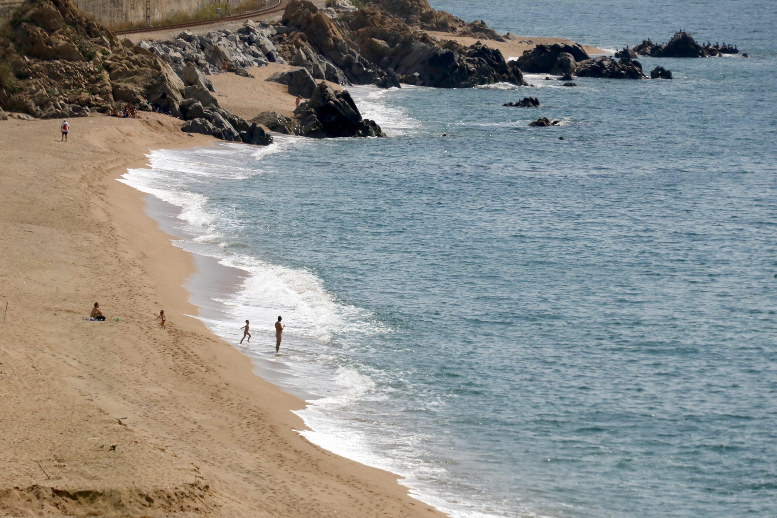Imatge de recurs d'una platja