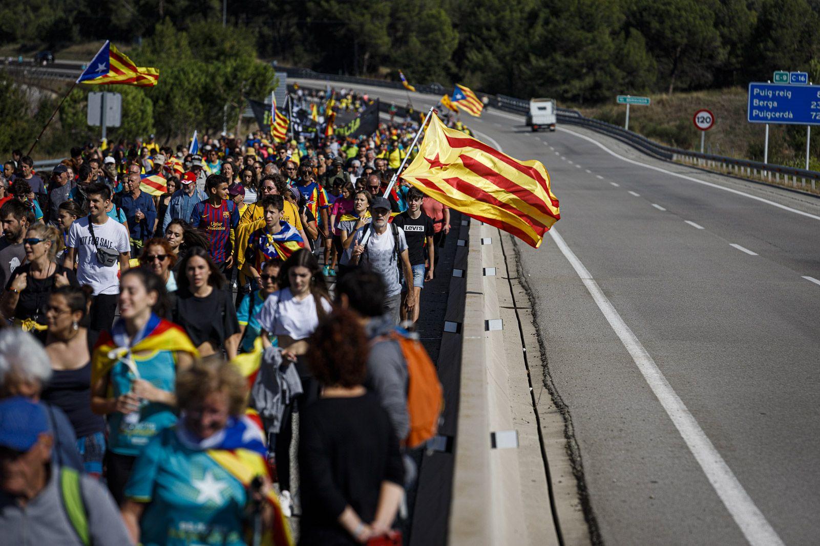 'Marxa per la Llibertat' al Berguedà