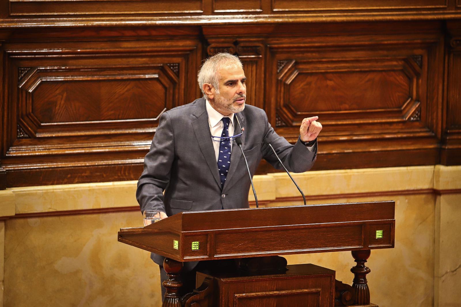 El diputat de Cs, Carlos Carrizosa