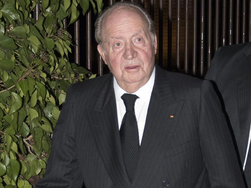 Joan Carles, en una de les últimes fotos en públic / Europa Press