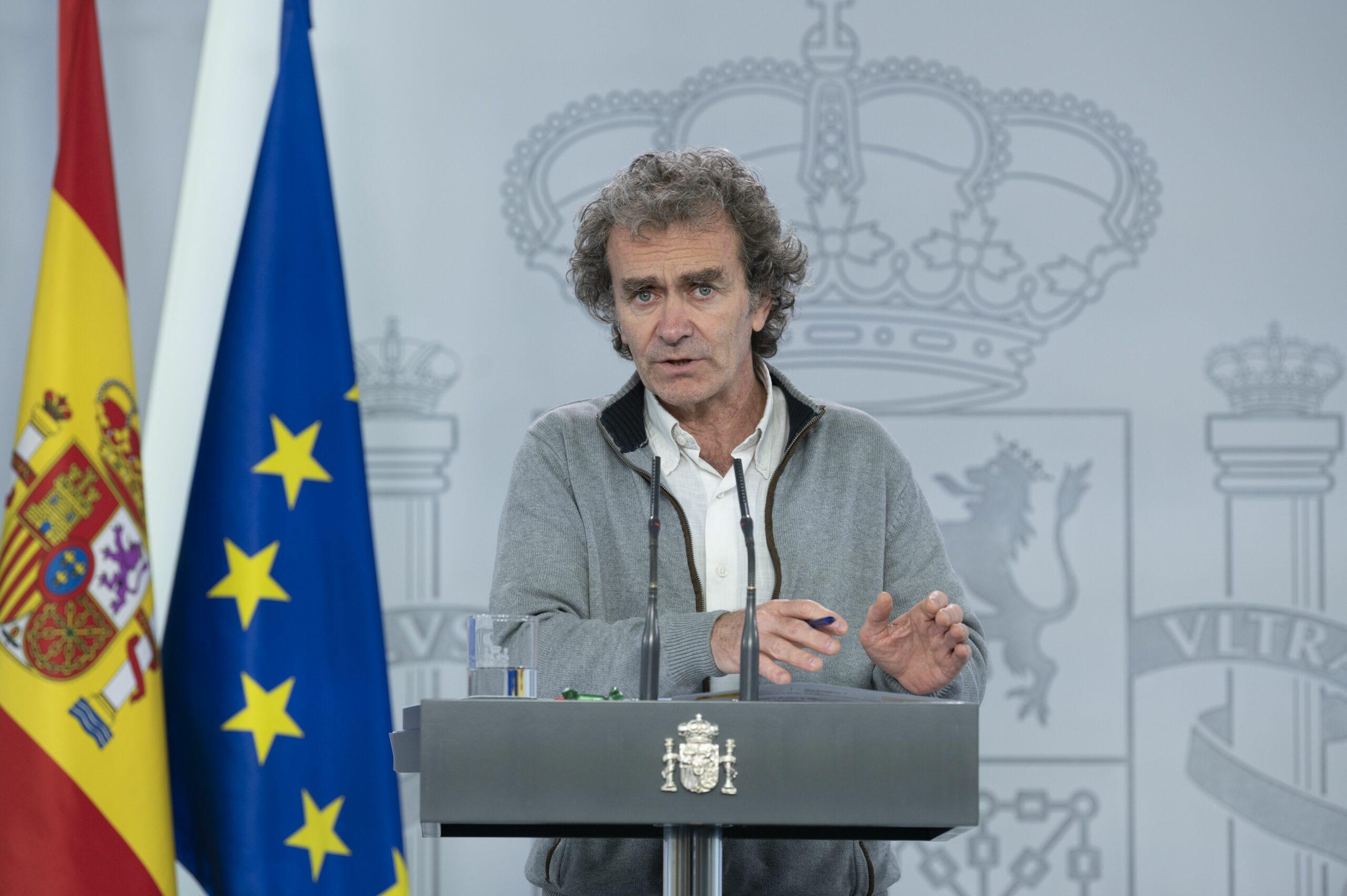 El director del Centre de Coordinació d'Alertes i Emergències Sanitàries (CCAES), Fernando Simón / Europa Press