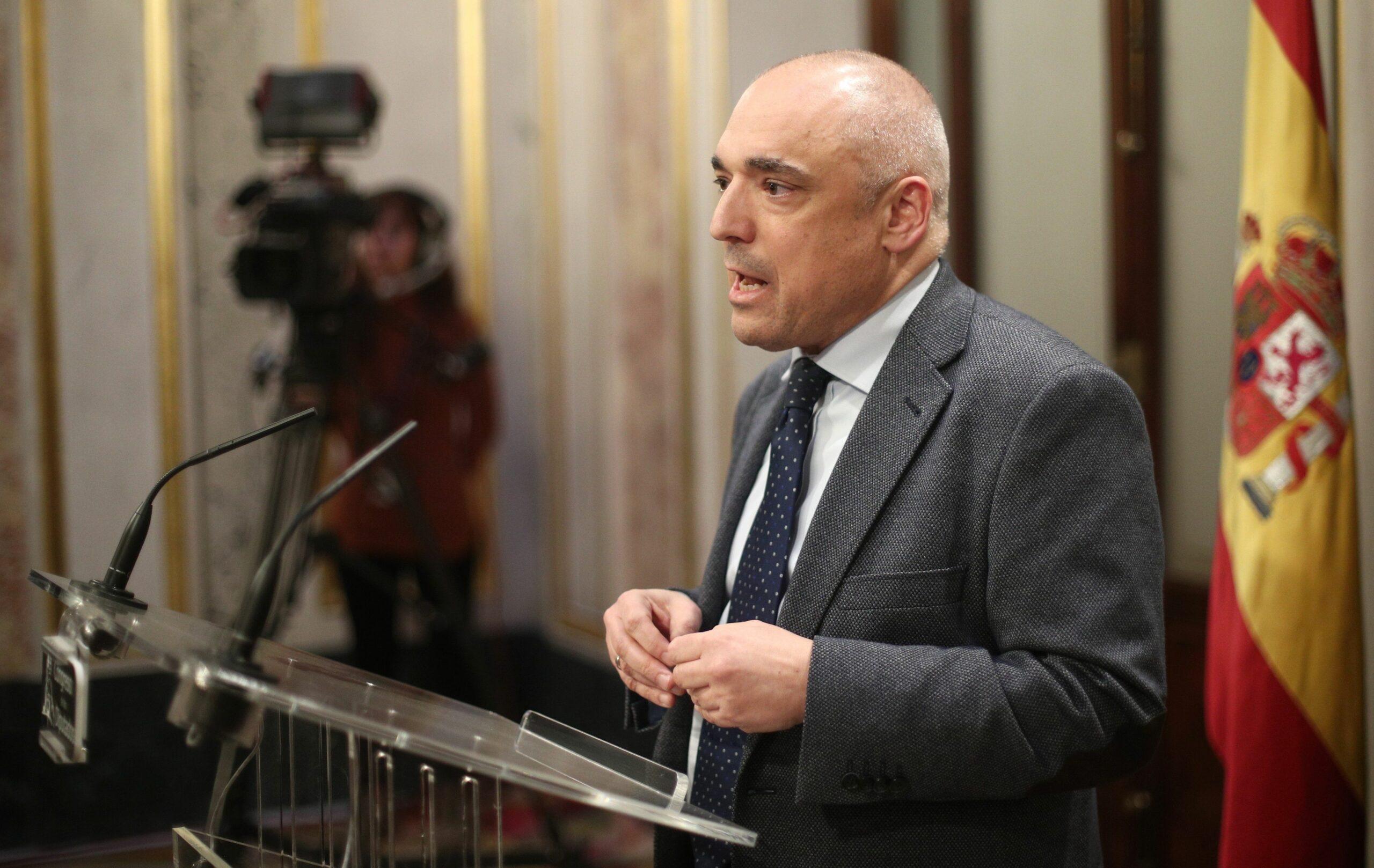Rafael Simancas | Europa Press