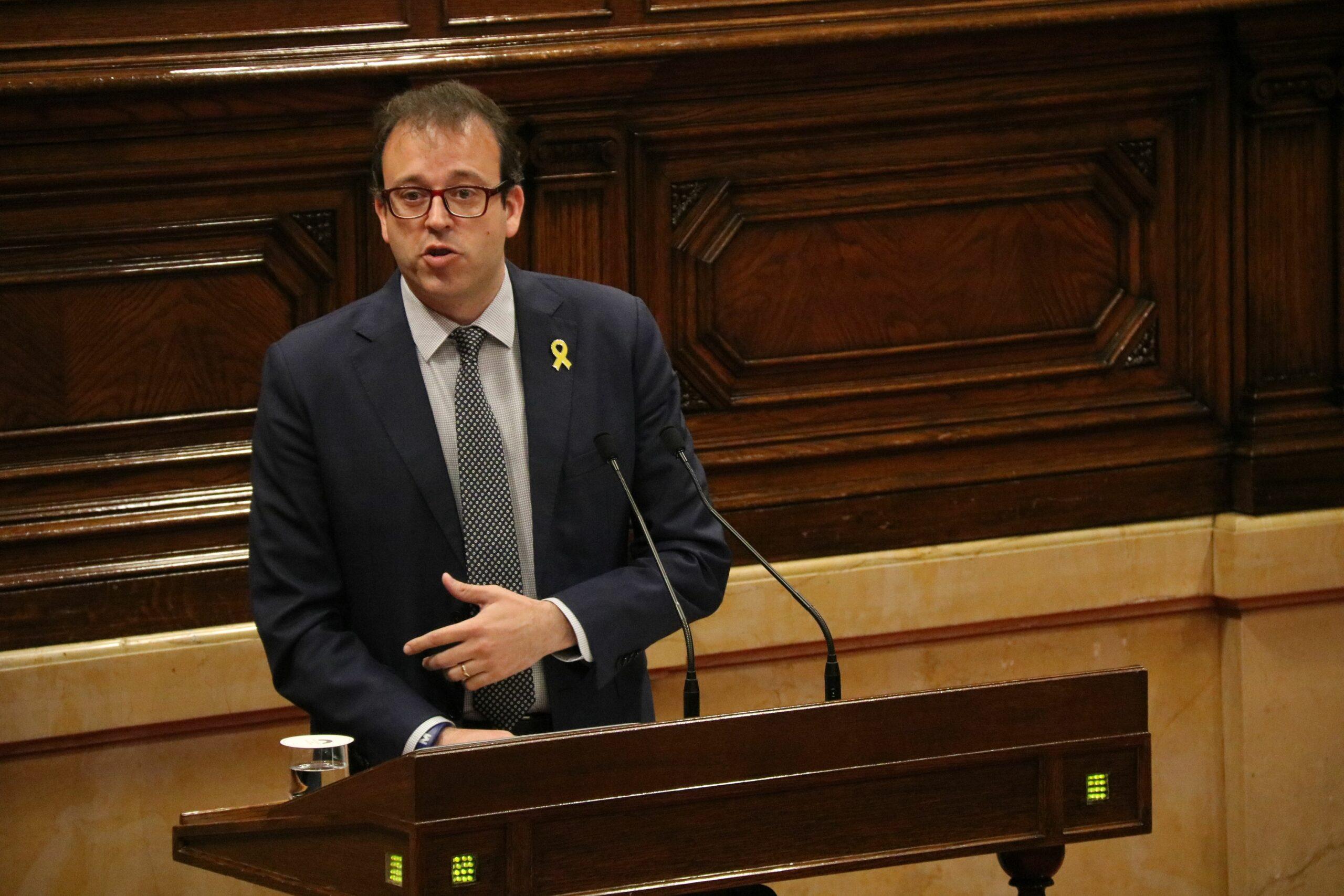 Marc Solsona al Parlament ACN
