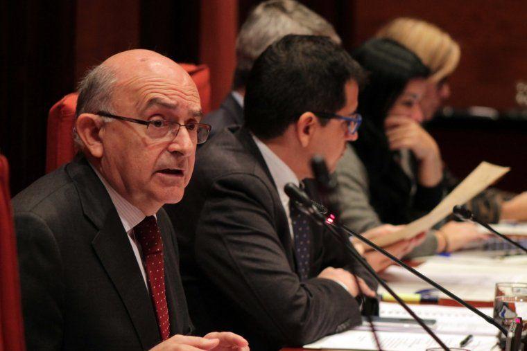 El director de l'Oficina Antifrau de Catalunya, Miguel Ángel Gimeno