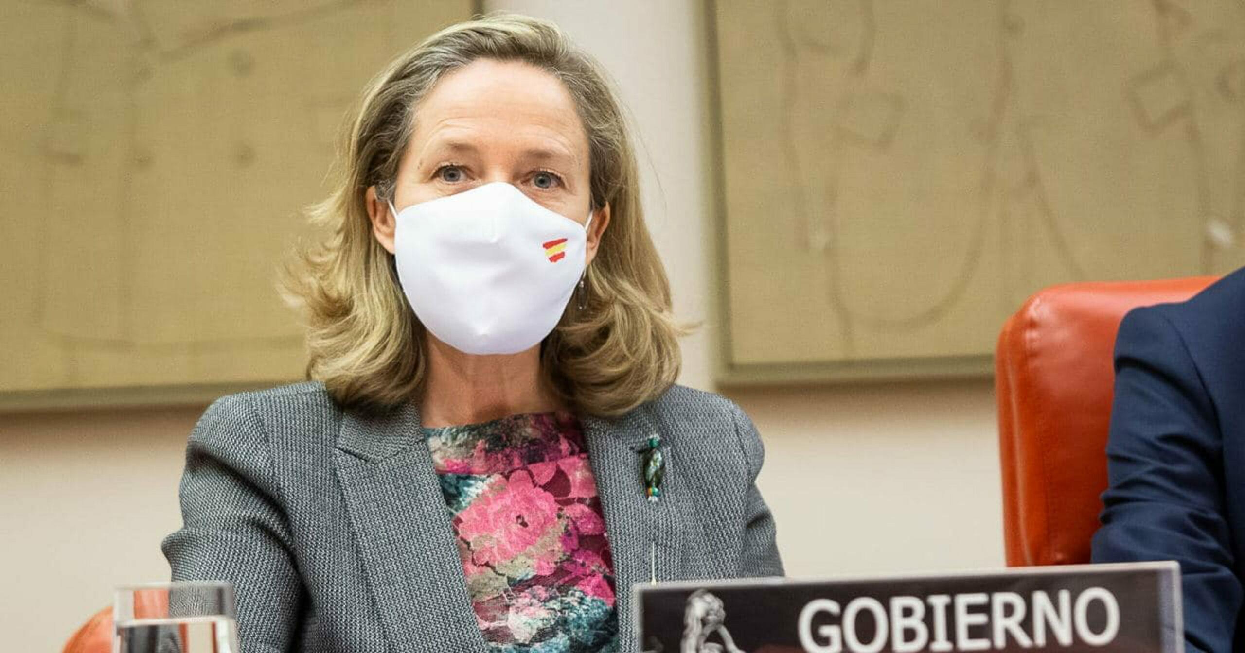La vicepresidenta tercera del govern espanyol, Nadia Calviño