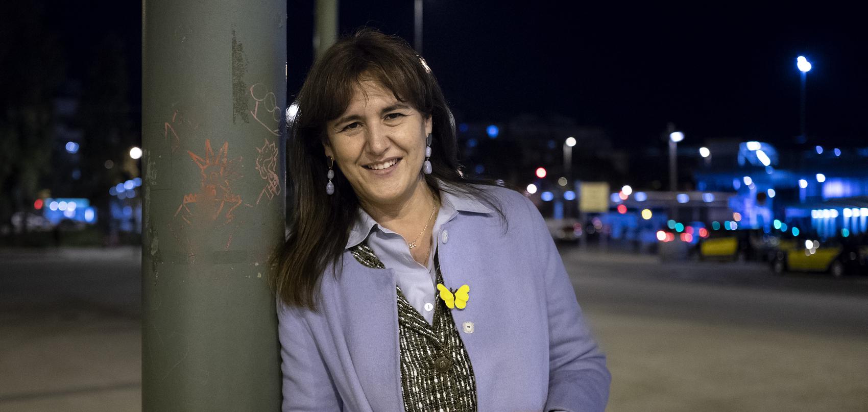 Laura Borràs, candidata a la presidència de la Generalitat per JxCat / Mireia Comas