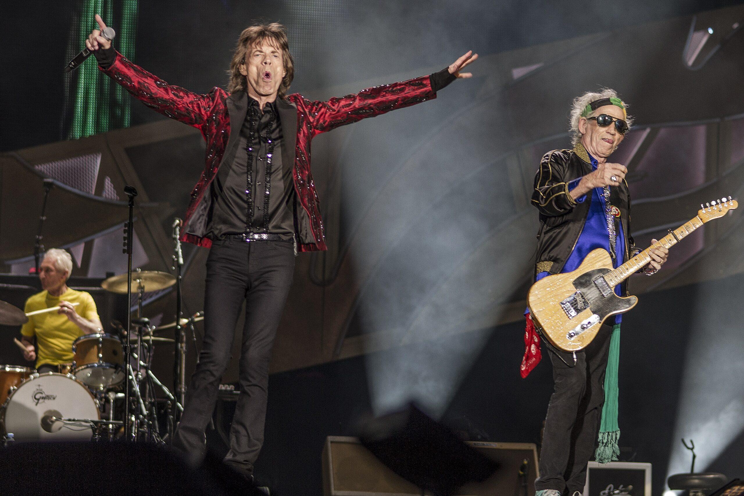 Mick Jagger en un concert dels Rolling Stones | Europa Press
