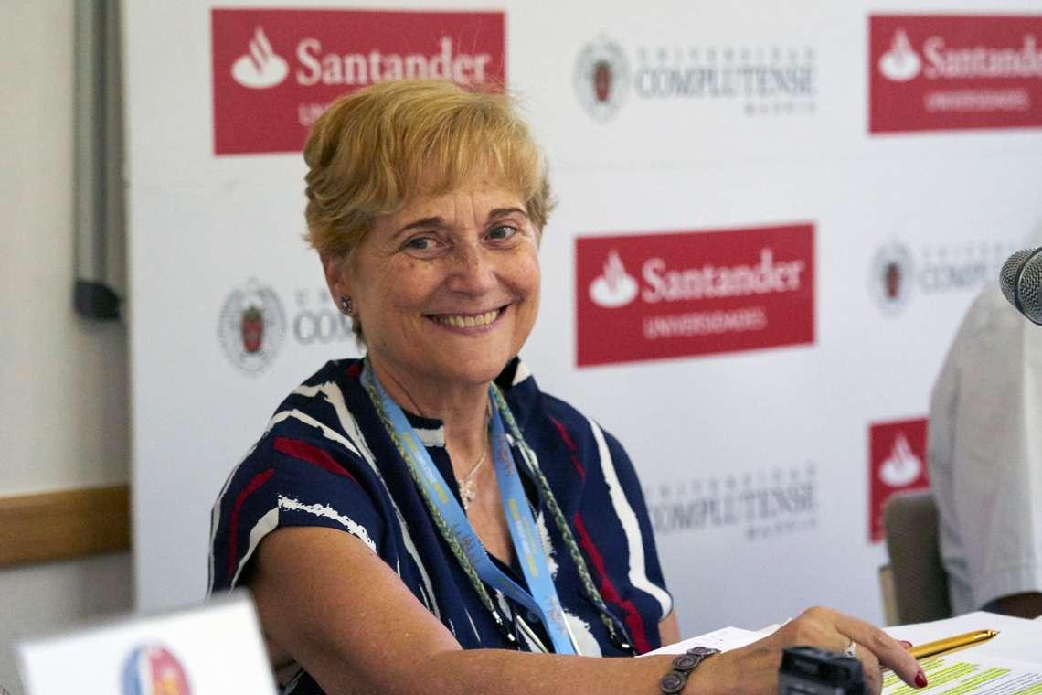 Maria Tardón en un curs a un curs d'Estiu de San Lorenzo del Escorial organizat per la Universitat Complutenses/UCM-Nacho Calonge