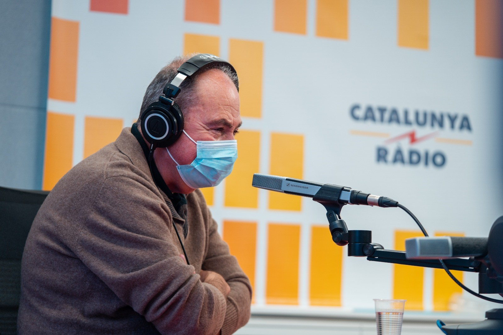 El doctor Antoni Trilla, a la Marató de TV3