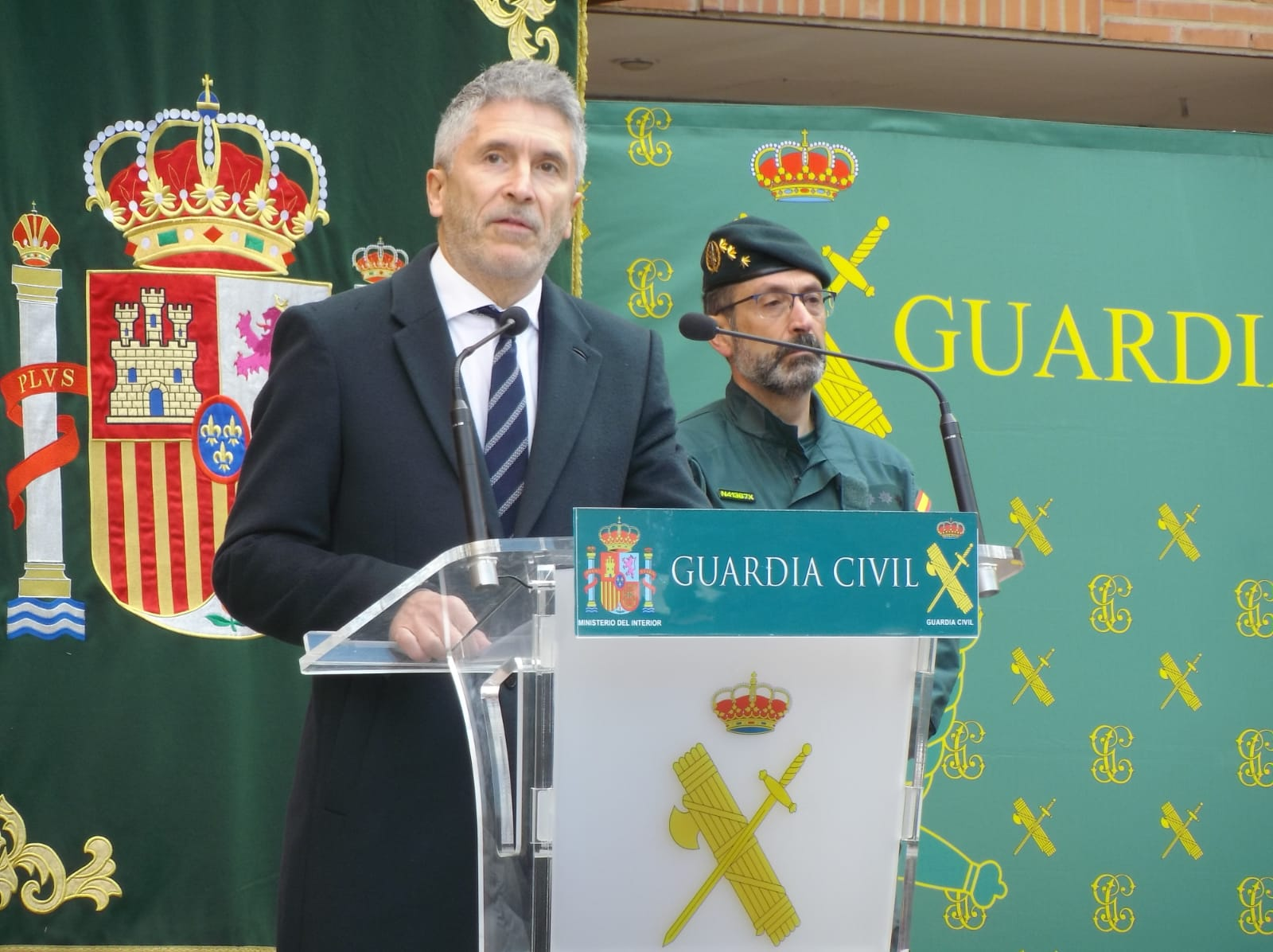 Marlaska, en un discurs amb la Guàrdia Civil/Ministeri de l'Interior