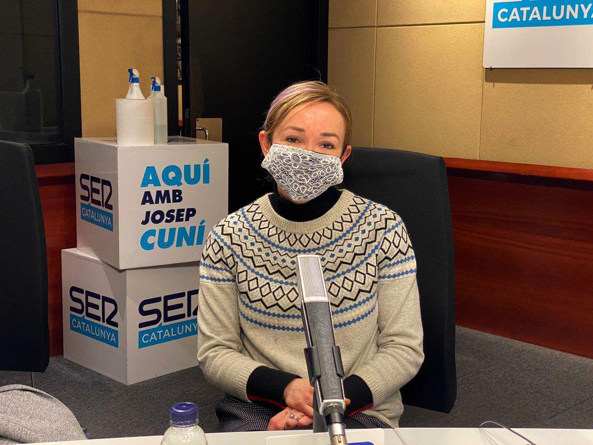 Ángela Dobrowolski, entrevistada per Josep Cuní   Cadena SER
