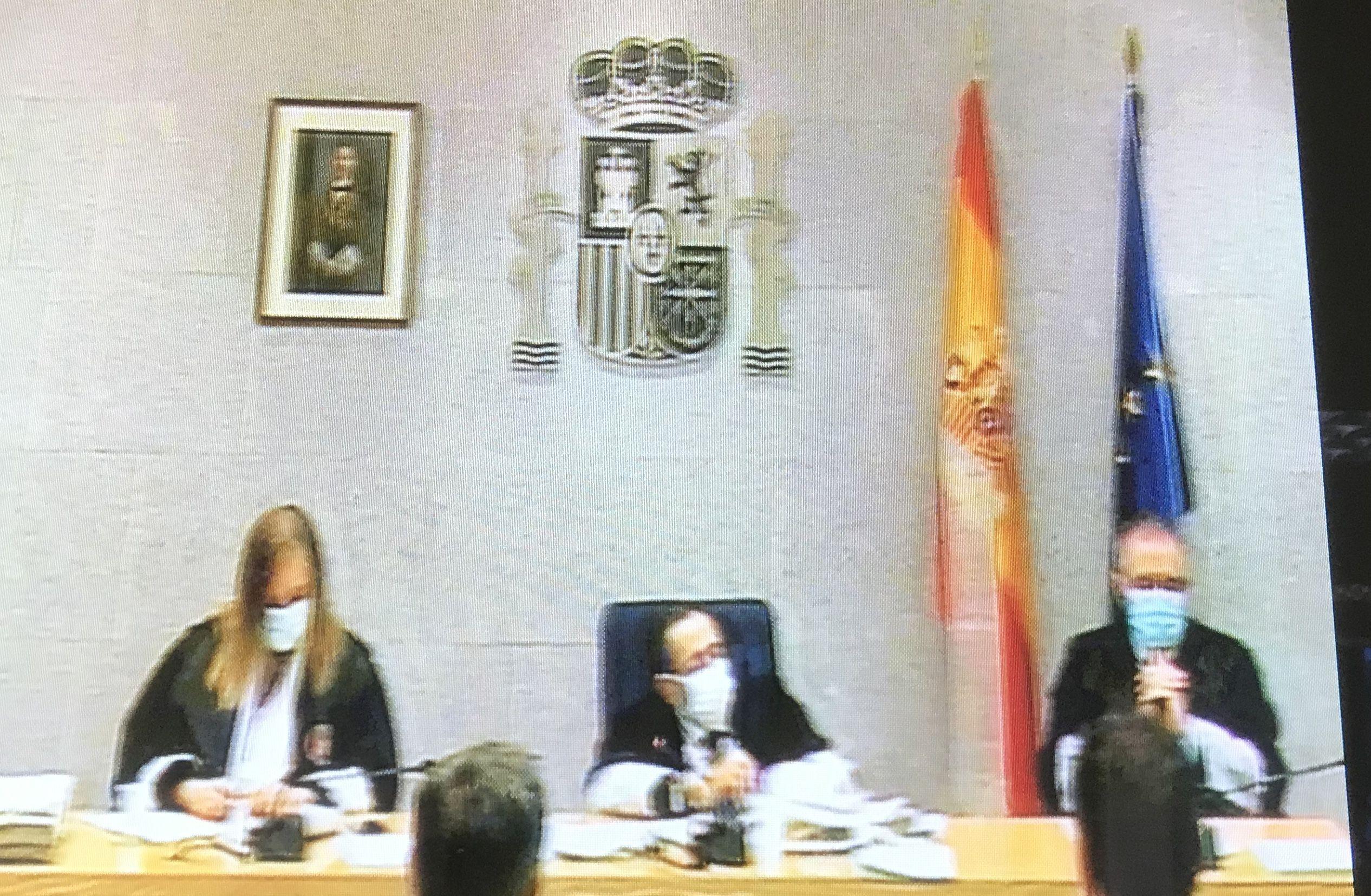 El tribunal aquest matí que escolta els testimonis pericials de les empremtes