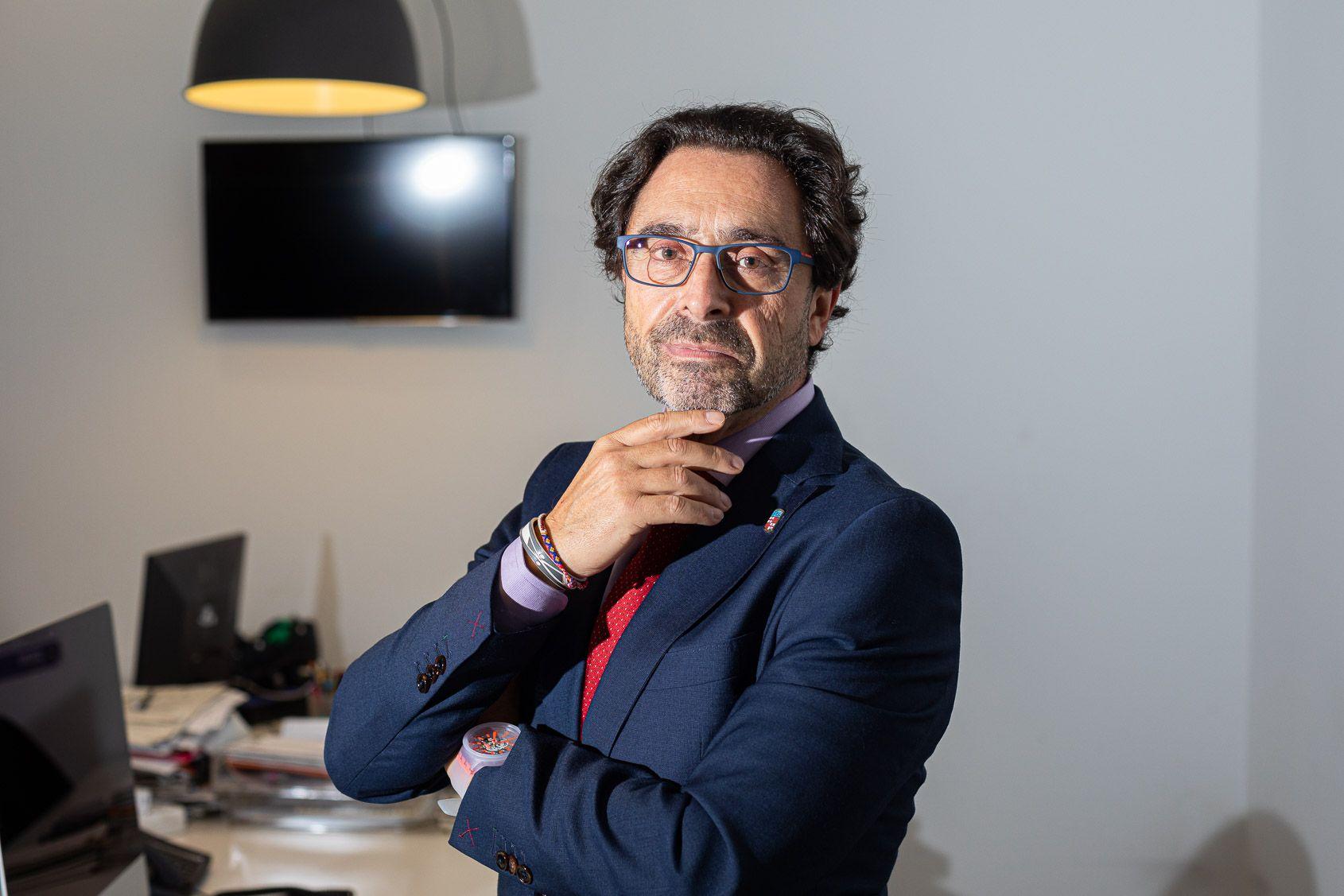 El doctor Joan Guàrdia, candidat al rectorat de la Universitat de Barcelona | Jordi Borràs