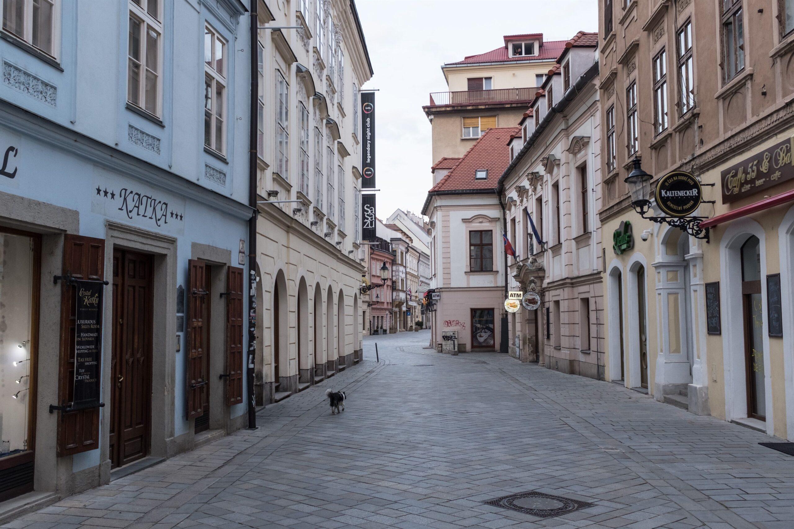 Un carrer de Bratislava / EP