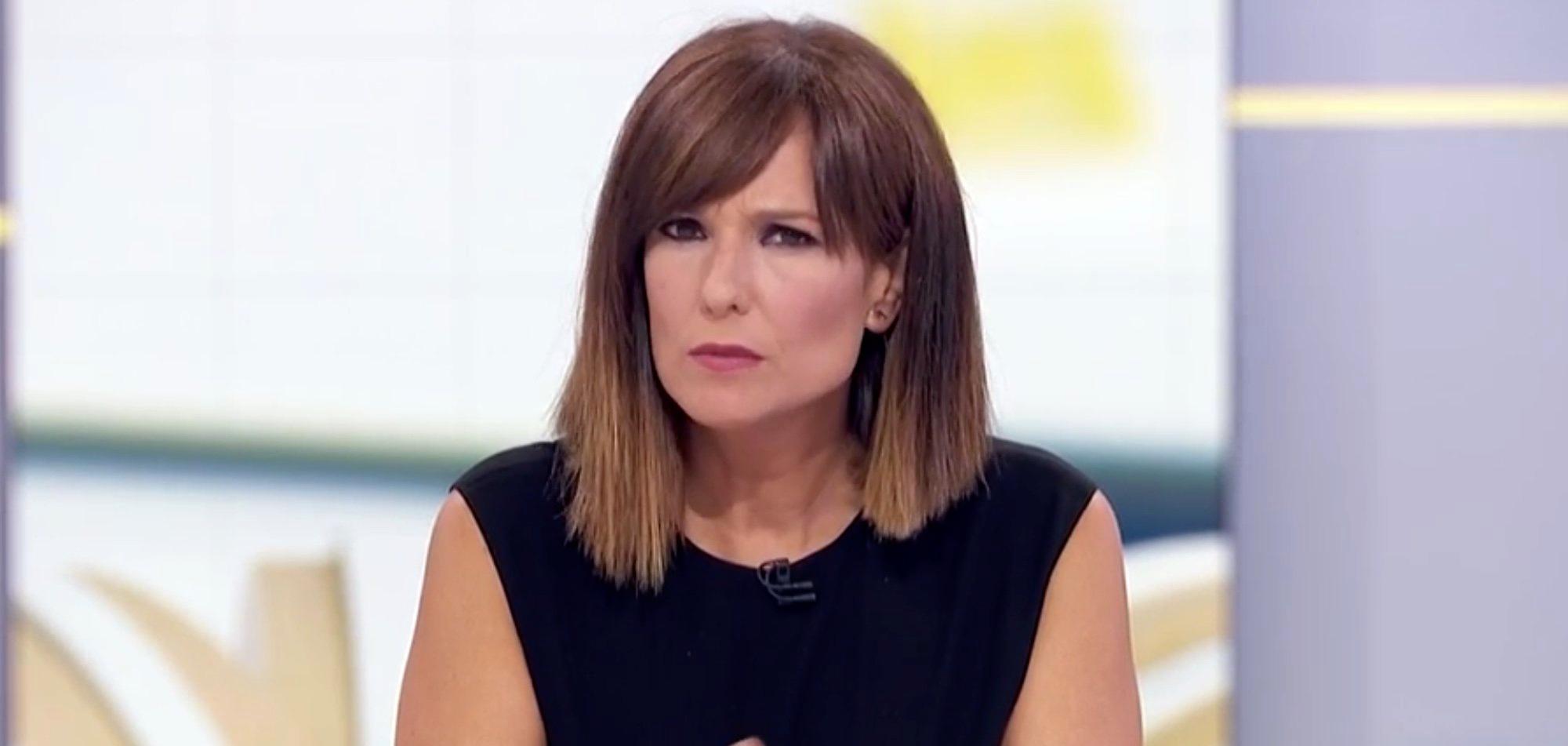 Mónica López, durant una entrevista a 'La hora de la 1' - TVE