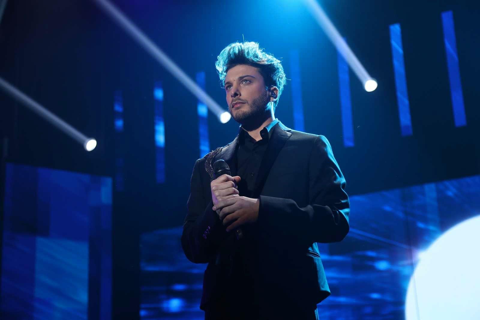 Blas Cantó en una gala en directe   TVE