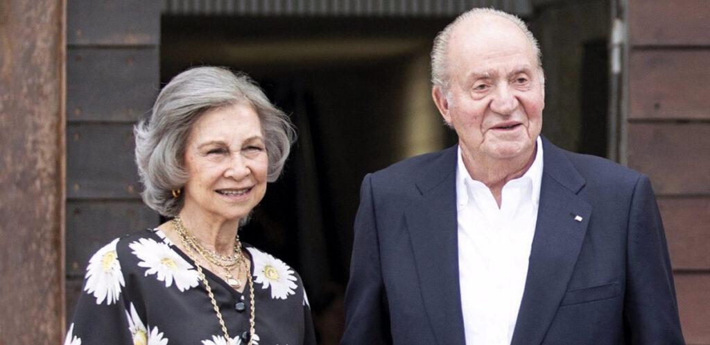Sofia i Joan Carles de Borbó, en una de les últimes fotografies junts / Europa Press